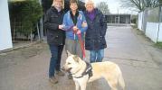 Tierschutzverein gratuliert Helga Beckmann
